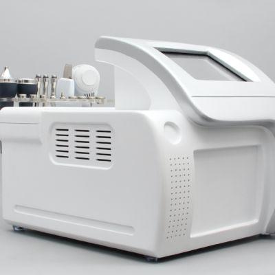 Multifunzione 4 in 1 viso microdermoabrasione + scrubber + ultrasuoni +martello freddo