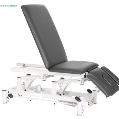 Lettino fisioterapia elettrico 3 sezioni in metallo comando perimetrale medicale