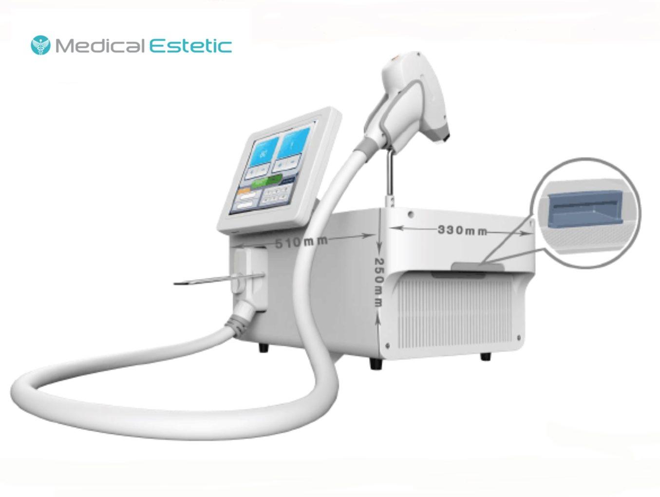Laser diodo 808 - 300W -18 Kg portatile professionale epilazione medicale 80J